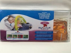 Heat in a Click travel Carriage reusable heat pad
