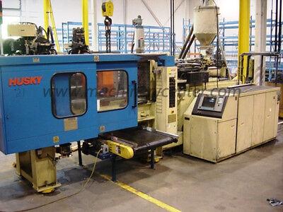 180 Ton 8.15 Oz. Husky Injection Molding Machine 96