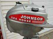 25 HP Johnson Outboard Motor