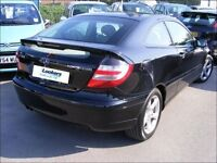 Mercedes c180 coupe 2004 for parts only