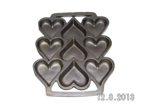Cast Iron Heart Pan Ebay