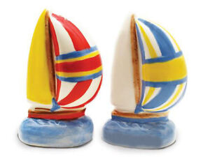 Nautical Spinnakers Sailboat Salt & Pepper Shaker S/P Set