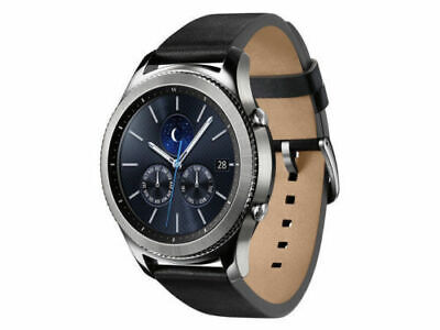 New Samsung Galaxy Gear S3 Outstanding example 46mm Silver Stainless Steel Patient R775A - ATT