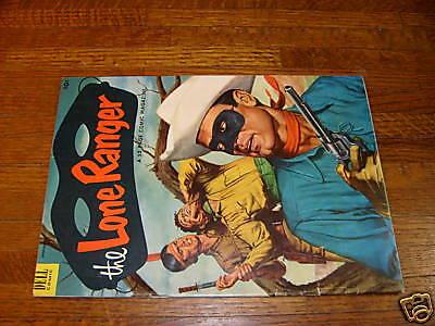 LONE RANGER #55, DELL 1953 COMIC