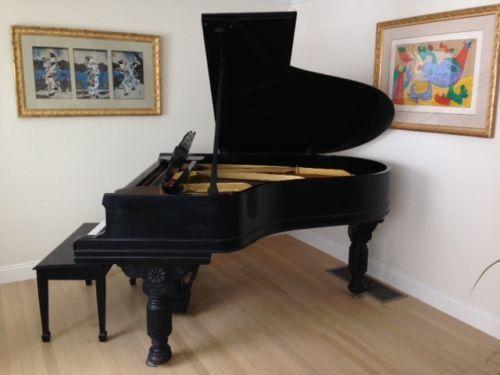 Steinway grand baby grand ebay for Yamaha upright piano lock key