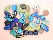 Dichroic Fused Glass Cabs