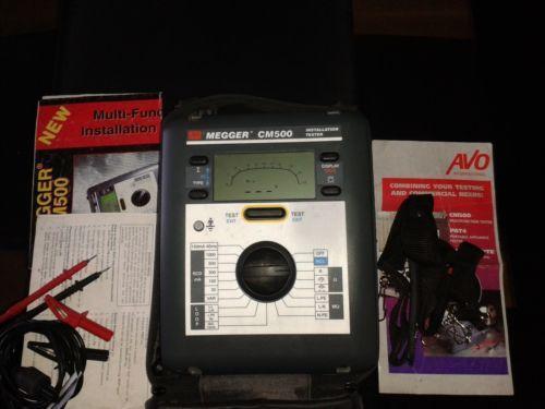 Megger Test Amp Measurement Equipment Ebay