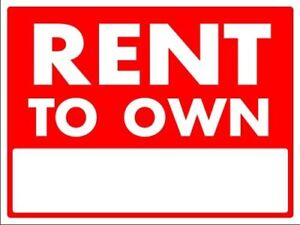 RENT TO OWN HOMES WITH LOW MONEY DOWN