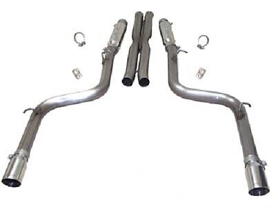 2007 Dodge Charger Exhaust (2005-2014 Dodge Charger/Magnum/300C 6.1, 6.4 SRT-8 SLP Loud Mouth Exhaust)