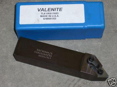 New Valenite Turning Lathe Tool Holder Vrs11653 1-14 Shank Usa