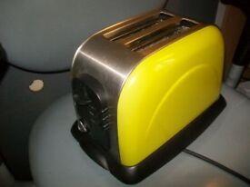 2 Slice AsdaXB8313 Toaster Model 18951, White