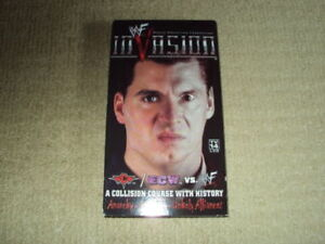 WWF INVASION VHS, EXCELLENT CONDITION, 2001, WWE
