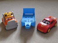 Fun Lorry with Trailer and Car