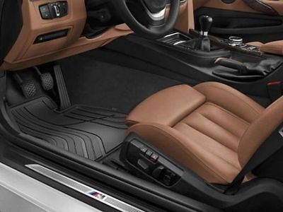 BMW All Weather Front Car Floor Mats F32 F33 F36 51472285311 right hand drive