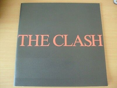 Tour Programme The Clash Japanese tour 1982 Japan