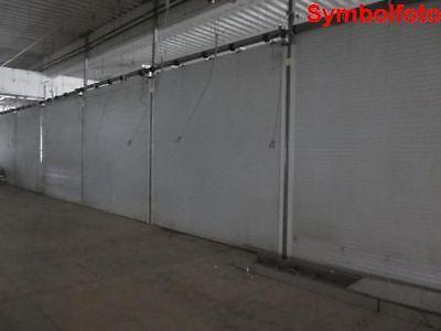 Elektrischer Aluminium Rollladen weiß B 450 cm x H 400 cm, Rolladen, Rolltor
