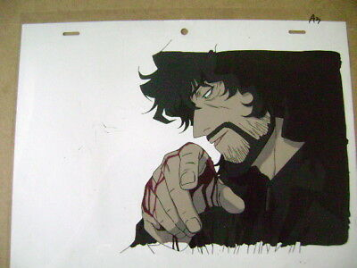 72bfd0e53 COWBOY BEBOP MOVIE VINCENT ANIME PRODUCTION CEL 2