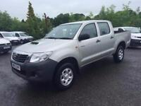 2013 TOYOTA HI LUX PICK UP HL2 4X4 D-4D DCB 4WD 4 WHEEL DRIVE ONLY 17K