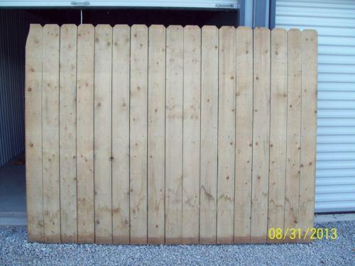 6x8 Privacy Fence Ebay