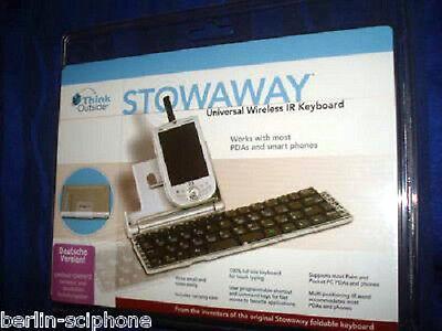 Infrarot Tastatur IR Sony CLIE TJ TG NX NR SJ UX T400 T600 Series Garmin GPS PDA online kaufen