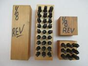 Reverse Letter Stamps
