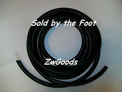 316 I.d X 332 Wall X 38 O.d Surgical Latex Tubing Rubber Tube Black Foot