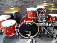 Mapex Meridian 6pc Drum Kit in Stunning Cherry Sparkle