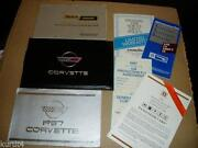 1987 Corvette Owners Manual