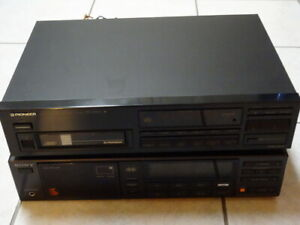 Pioneer 6 CD Changer & Sony Control Center Receiver