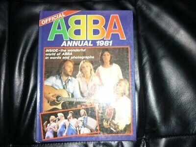 OFFICIAL ABBA ANNUAL 1981 by PolarMusic International Book The Fast Free