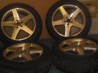 Mercedes Benz ML Original Silver Alloy Wheels & Tyres