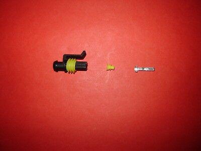 Ducati Oil Pressure Connector Conn Kit Harness Wiring Loom Side
