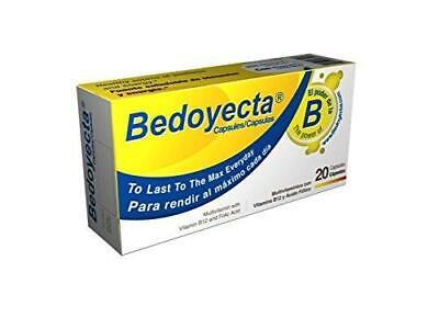 Bedoyecta Multi-Vitamin Capsules, 20 Count  2021