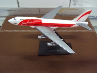 Airasia  Airway Model Boeing 747 400 Assembly Toy Hobbies 1 530 Kit Airway