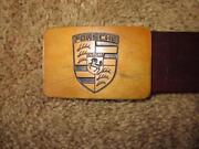 Porsche Belt Buckle