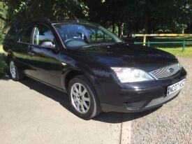 FORD MONDEO ESTATE 12 MONTH MOT UNTIL AUGUST 2018, DRIVES EXCELLENT ANY TRIAL