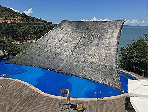 40% Sunblock Resistance Heat UV Black Outdoor Garden Canopy