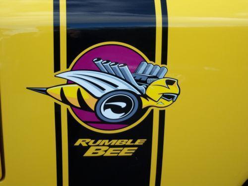 Dodge Rumble Bee Decal | eBay