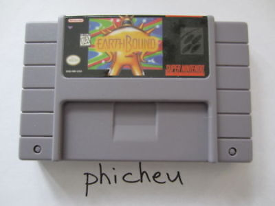 Earthbound SNES Super Nintendo USA version video game cartridge 16 bit NTSC for sale  Shipping to Canada