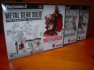 Metal Gear Solid - The Essential Collection - PS2