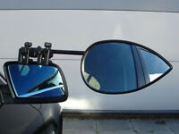 Milenco Aero Flat Caravan Towing Mirrors - Twin Pack with Case.