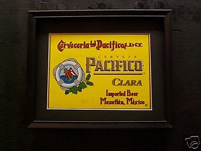Used, PACIFICO CLARA  BEER SIGN  #114 for sale  Moline