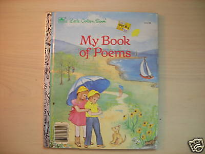 A Little Golden Book MY BOOK OF POEMS by Ben Cruise 1985