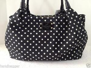 Kate spade stevie handbags purses ebay kate spade classic spade stevie junglespirit Image collections