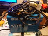 clarke 161 stick welder NO OFFERS SORRY