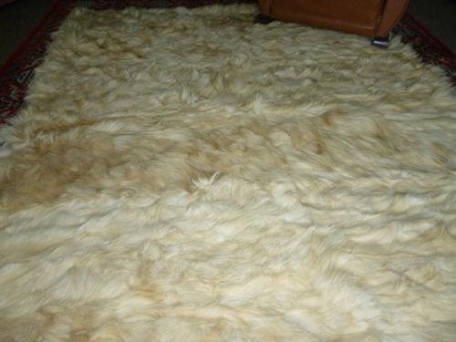 Goat Skin Rug Ebay