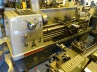COLCHESTER MASCOT 1600 GAP BED CENTRE LATHE 60 INCHS WITH TAPER TURNING
