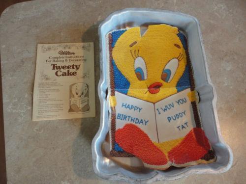 Tweety Bird Cake Pan Ebay