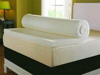 New luxury double memory foam mattress topper rrp 150