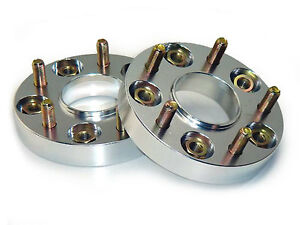 JJR 15mm Bolt-on Wheel Spacers - M12 x P1.5 (5 x 100)